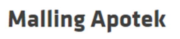 Malling Apotek logo