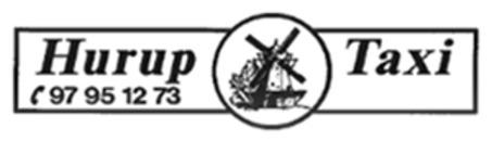 Hurup Taxi logo