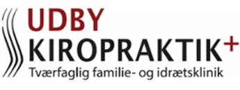 UDBY KIROPRAKTIK+ logo