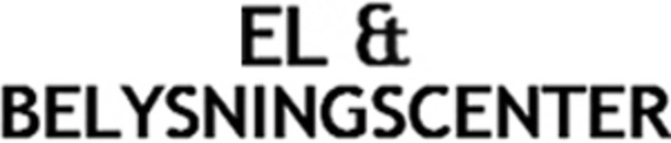 El- & Belysningscenter logo