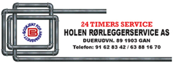 Holen Rørleggerservice AS logo