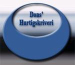 Dons' Hurtigskriveri logo