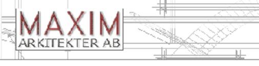 Maxim Arkitekter AB logo