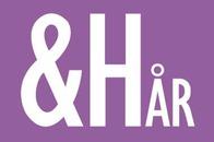 & Hår logo