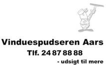 Vinduespudseren Aars logo