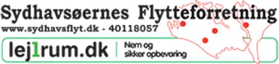 Sydhavsøernes Flytteforretning logo