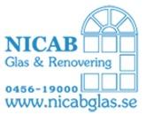 Nicab Glas & Renovering logo