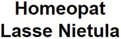 Homeopat Lasse Nietula logo