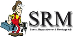 SRM / Svets, Reparation & Montage I Västervik AB logo