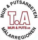 TA Mur och Puts AB logo