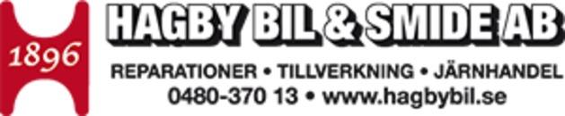 Hagby Bil & Smide AB logo