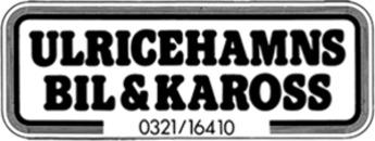 Ulricehamns Bil & Kaross AB logo