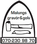 Malungs Gravör & Golv logo