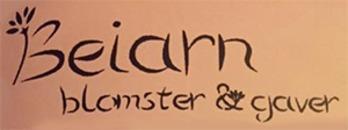 Beiarn Blomster og Gaver DA logo