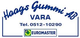 Euromaster Vara / Haags Gummi logo
