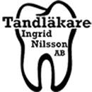 Tandläkare Ingrid Nilsson logo