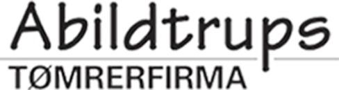 Abildtrups Tømrerfirma logo