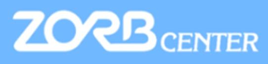 Zorbcenter logo
