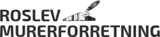 Roslev Murerforretning logo