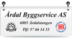 Årdal Byggservice A/S logo
