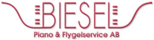 Biesel piano & flygelservice AB logo