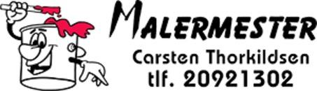 Malermester Carsten Thorkildsen logo