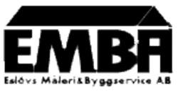 EMBA, Eslövs Måleri & Byggservice AB logo