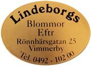 Lindeborgs Blommor logo