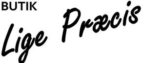Butik Lige Præcis logo