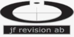 JF Revision AB logo