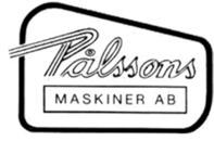 Pålssons Maskiner AB logo