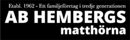 Hembergs Matthörna logo