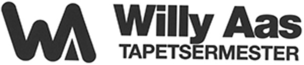 Tapetsermester Willy Aas logo