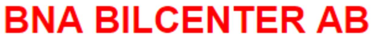 BNA Bilcenter AB logo
