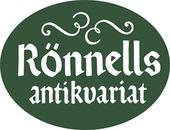 Rönnells Antikvariat AB logo