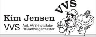 Blikkenslager Kim Jensen logo