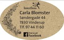Carla Blomster logo