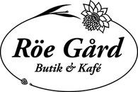 Röe gård Butik och Kafé logo
