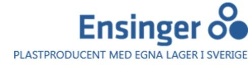 Ensinger Sweden AB logo