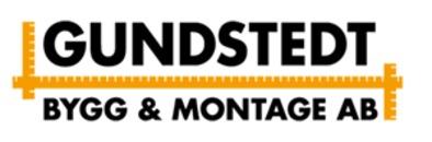 Gundstedt Bygg & Montage AB logo