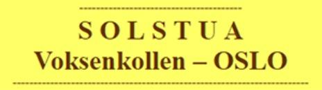Solstua selskapslokale og representasjonsvilla logo