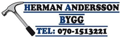 Herman Andersson Bygg logo