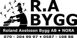 R.A Bygg, Roland Axelsson AB logo