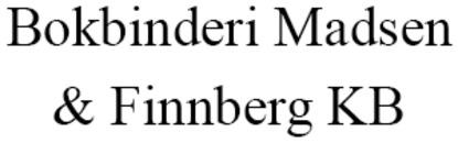Bokbinderi Madsen & Finnberg KB logo