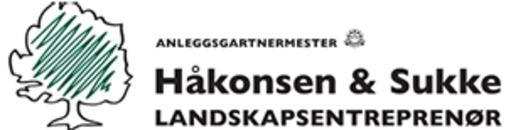 Håkonsen og Sukke Landskapsentreprenør AS logo