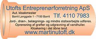 Utofts Entreprenørforretning ApS logo