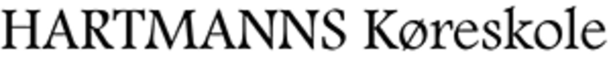 Hartmann's Køreskole ApS logo