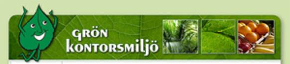 Grön kontorsmiljö Helsingborg AB logo