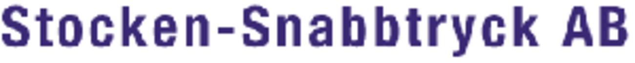 Stocken-Snabbtryck AB logo