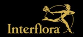 Iris Blomsteraffär interflora Sandviken logo